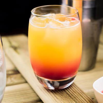 Sweet Sunrise Cocktail