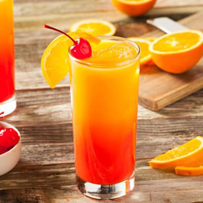 Tequila Sunrise with Grove Juice